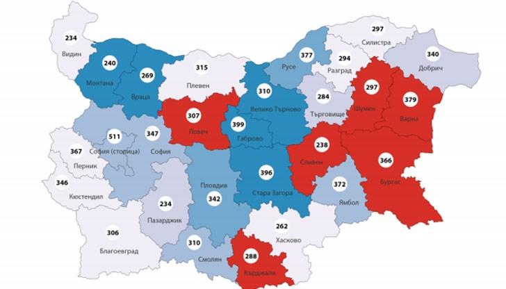 Karta Na Bednostta V Blgariya Dunavmost Com