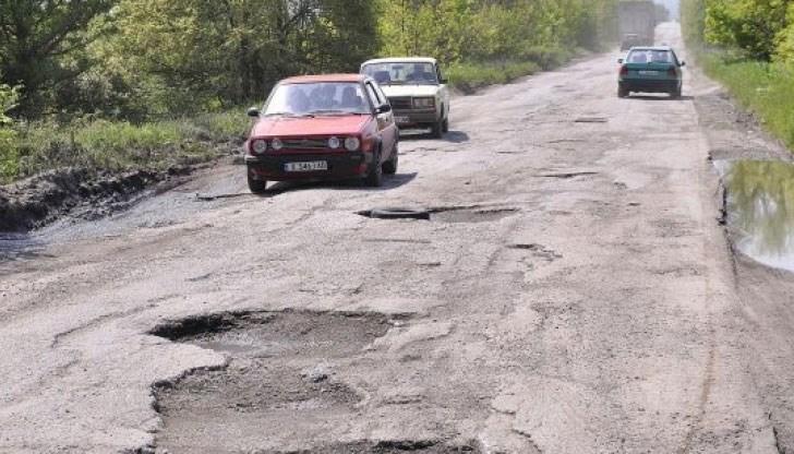 Резултат с изображение за лоши пътища