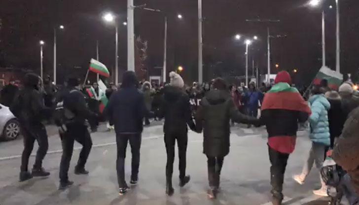 Хоро на блокадата в Русе