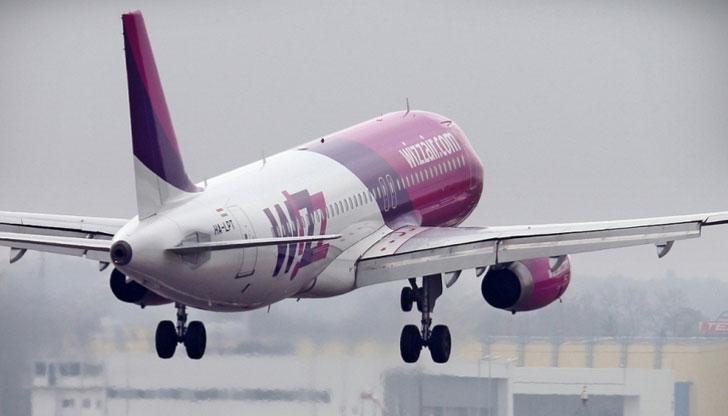 """Wizz air пуска 8-дневна промоция """"Розов"""" петък"""