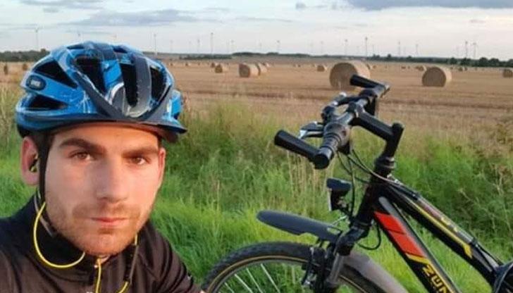 Българин тръгва от Берлин към връх Шипка с колело