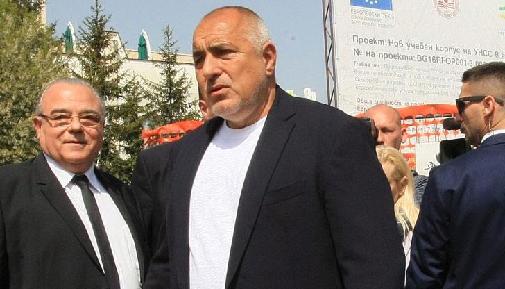 Мислите на Борисов са на път да се сбият