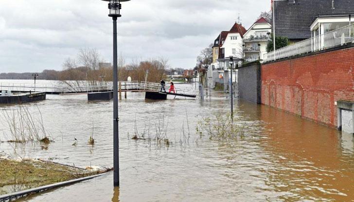 Потоп в Германия взе жертва