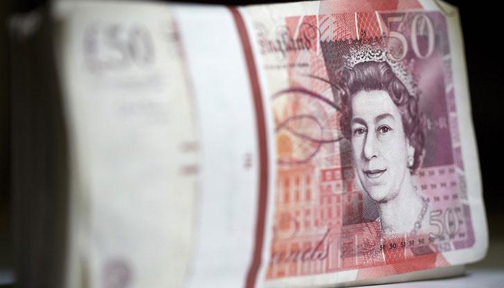 Фалшиви банкноти от 50 паунда са засечени в България