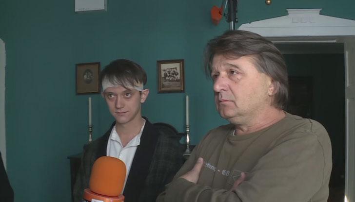 Снимат филм в Русе