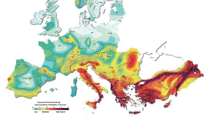 Glavni Zemetrsni Rajoni V Blgariya Planet Earth