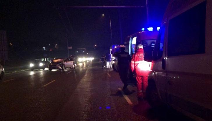 Пътниците в катастрофиралия автобус са се отървали само с уплаха