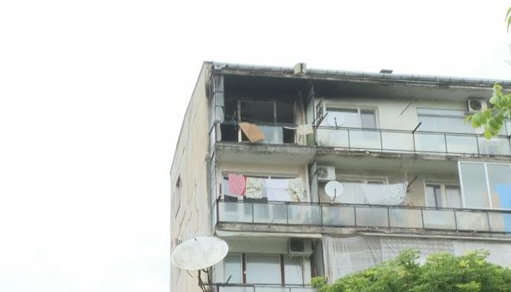 Децата, спасени от пожар във Велико Търново, са в болница