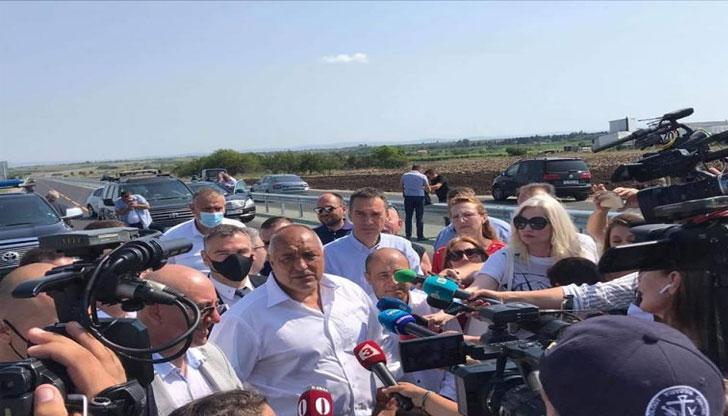 Бойко Борисов: Имаме най-чистото море