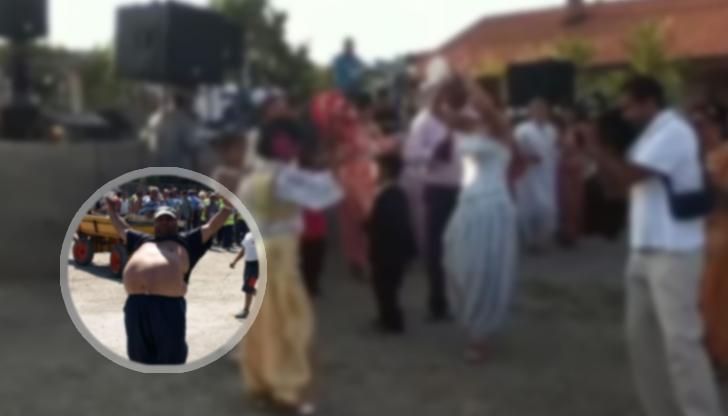 """Ромска сватба в квартал """"Дружба"""""""
