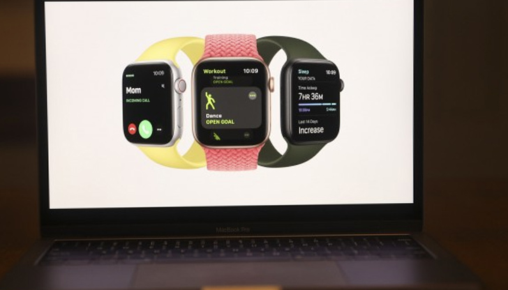 Apple представи часовник, който наблюдава кислорода в кръвта