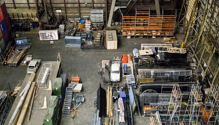 Крадци отмъкнаха строителни инструменти от склад в центъра на Русе