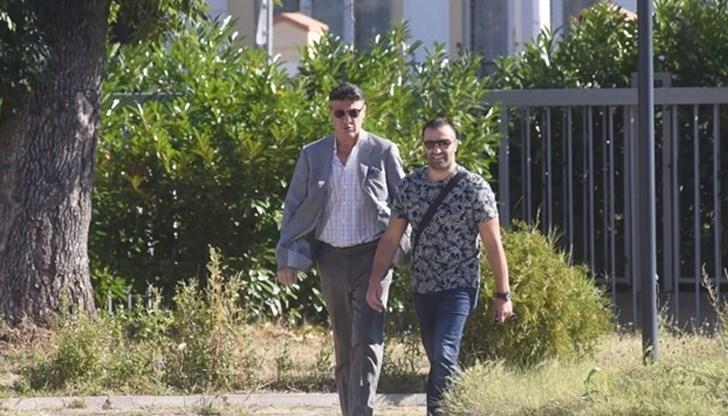 Борислав Михайлов се яви на разпит в прокуратурата (Видео)