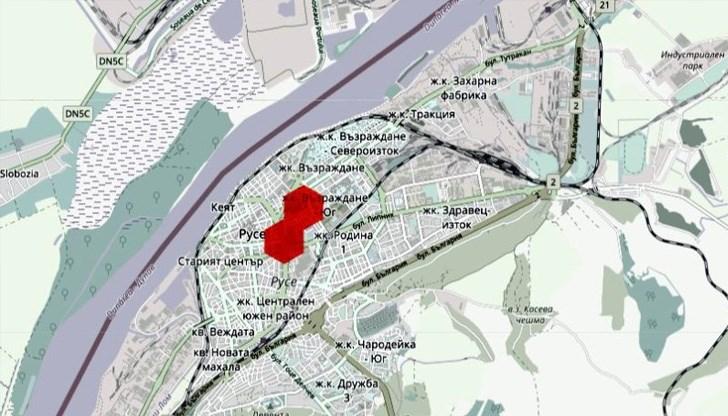 Interaktivna Karta Opredelya Vzduha V Ruse Kato Mnogo Losh